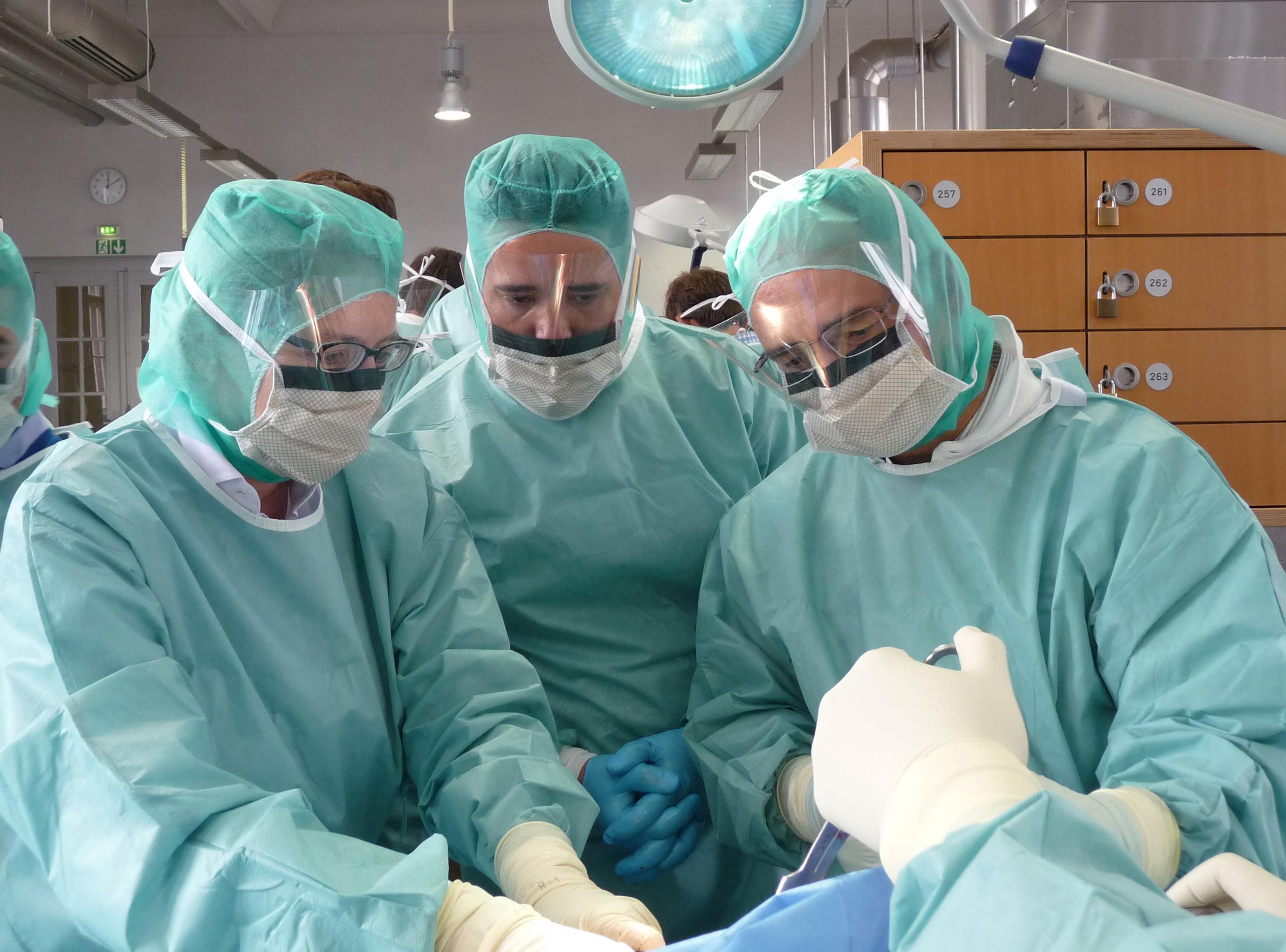 Treinamento em cirurgia de quadril na Alemanha - Dez 2015